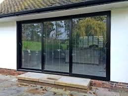 sliding patio door exterior. 3 Panel Sliding Patio Door Large Size Of Doors And . Exterior