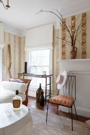 Wall Treatment Design Embroidered Trim Acts As A Great Wallpaper Alternative