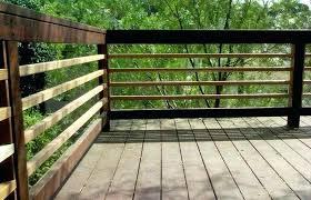 home elements and style um size wood deck railing ideas um size porch railing horizontal diy