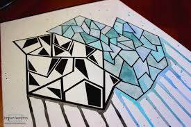abstract drawing lets draw abstract art inspired by artist bree leeds youtube