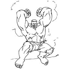 As anger increases, so does his strength. 25 Popular Hulk Coloring Pages For Toddler