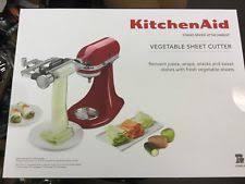 kitchenaid vegetable sheet cutter. item 2 kitchenaid vegetable sheet cutter attachment, peeler --new-- -kitchenaid kitchenaid o