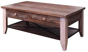 4 drawer coffee table greenview loft 4 drawer coffee table rustic oak 4 drawer storage coffee