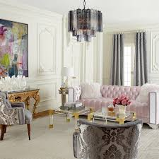 Tufted Living Room Furniture Pink Tufted Sofa Living Room Traditional With None