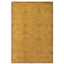 grimsby amber gold 6 ft x 9 ft area rug