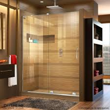 mirage x sliding shower door