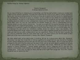 the new deal mrs roosevelt in action 32 student essay by kealey viglielmo eleanor roosevelt