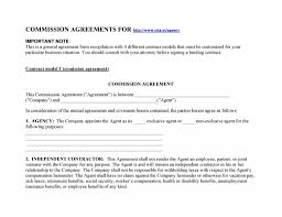 Commission agreement forms are generally structured around the goals of your employees. Sale Commission Agreement Template Addictionary