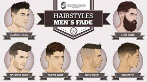 Mens Hair Types Chart Mens Hairstyles A Simple Guide To Popular And Modern Fades