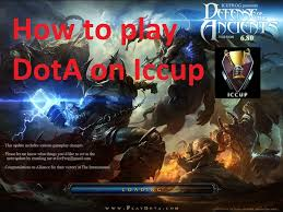 how to play dota 1 online on iccup 2016 youtube