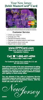 eppicard nj customer service and