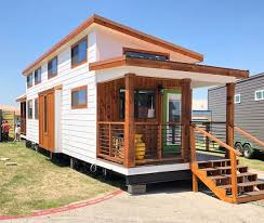 the austin model by platinum cottages on display rrc athens this tiny house jamboree