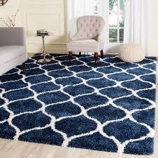soft navy outdoor rug
