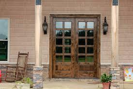 Rustic double front door Cool Door Clearance Center Knotty Alder Exterior Double Doors