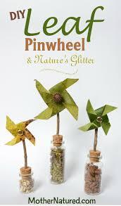 cute leaf pinwheel