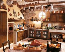 Of Rustic Kitchens Rustic Kitchen Cabinets Completes A Countryside House Ruchi Designs