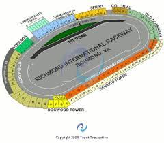 Richmond Raceway Seating Chart Richmond International Raceway Tickets And Richmond
