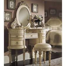 beautiful white bedroom vanity