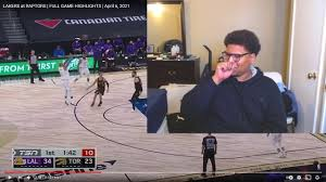 Reaction LAKERS at RAPTORS   FULL GAME HIGHLIGHTS - YouTube