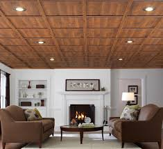Wooden Ceilings armstrong ceiling plankswoodhaven classic white coffered 8075 by guidejewelry.us
