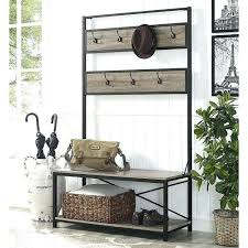 Hallway Furniture Coat Rack Enchanting Shoe Storage Bench With Coat Rack Best Hallway Furniture Set Shoe