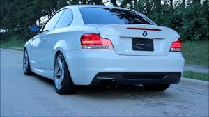 Coupe Series bmw 135i exhaust : Challenge - BMW E82 135i Stainless Steel Catback Race Exhaust ...