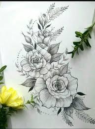 Lunaaugustin тату тату татуировка цветы и рисование цветов