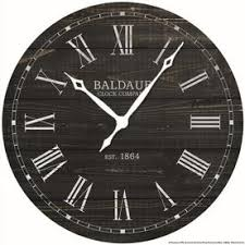 analog round indoor wall clock on art deco wall clock reproduction with shop clocks at lowes