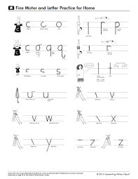 Handwriting Without Tears Lowercase Letters Page 2