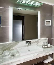 Hotel Bathroom Lighted Mirror Novo Led Lighted Mirror Electric Mirror