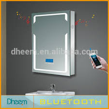 New Fashion Led Bluetooth Touch Screen Bathroom Smart Mirror Buy