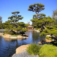 photo of the japanese garden van nuys ca united states see