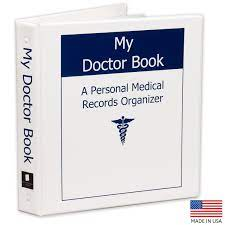 My Doctor Book A Personal Medical Records Organizer - WINNER of TODAY'S  CAREGIVER Caregiver Friendly Award 2012: Mary E. Carlton: 9780984484300:  Amazon.com: Books