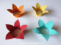 Paper Flower Lamp Flower Lamp Craft The Joy Of Sharing