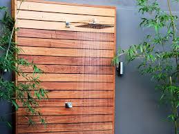silver top decking shower screen