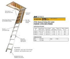 attic access ladder. attic access ladder n