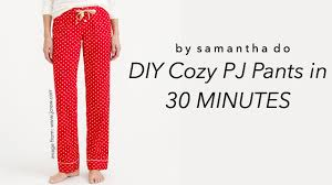 Pajama Pants Sewing Pattern Simple Design Inspiration