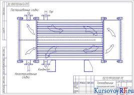 Курсовой проект теплообменника для производства сливок из цельного  все чертежи