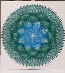 String Art Pattern Generator Extraordinary String Art DIY Ideas Tutorials Free Patterns And Templates To