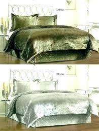 royal velvet bedding sheets sets crushed comforter 6 crush bed bath and beyond