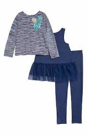Pippa And Julie Size Chart Pippa Julie New Blue Baby Girls Size 3t Rosette Tunic Mesh