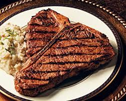 porterhouse steak. Plain Steak Porterhouse Steak On R