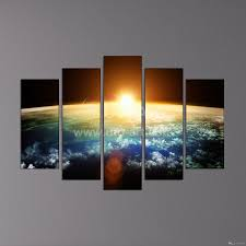 hot sell sunrise modern home wall decor canvas picture art hd