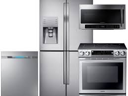 Black Kitchen Appliance Package Kitchen 4 Piece Stainless Steel Kitchen Appliance Package 00006