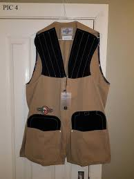 Castellani Shooting Vest Size Chart Castellani Skeet Vests Various Sizes Other Sales Pigeon