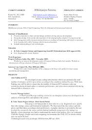 sample resume for google