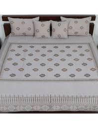 indigenous handicrafts incredible linen bedding set
