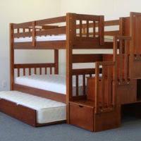 Stairway Bunk Bed. Image Source: Bedz King