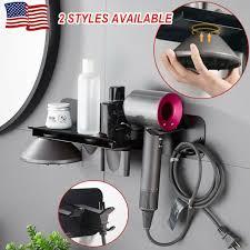 plastic hair dryer wall mount holder