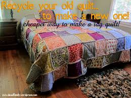 King Size Rag Quilt - Spoonful of Imagination & King Size Rag Quilt Adamdwight.com